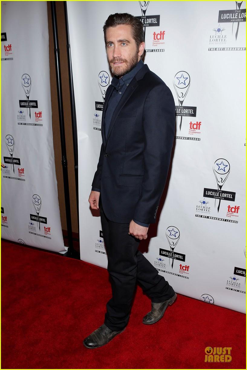 jake gyllenhaal america ferrera lucille lortel awards 08