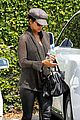 halle berry rocks leather pants while shopping 02