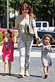 alyson hannigan grabs coffee after keevas first birthday 03