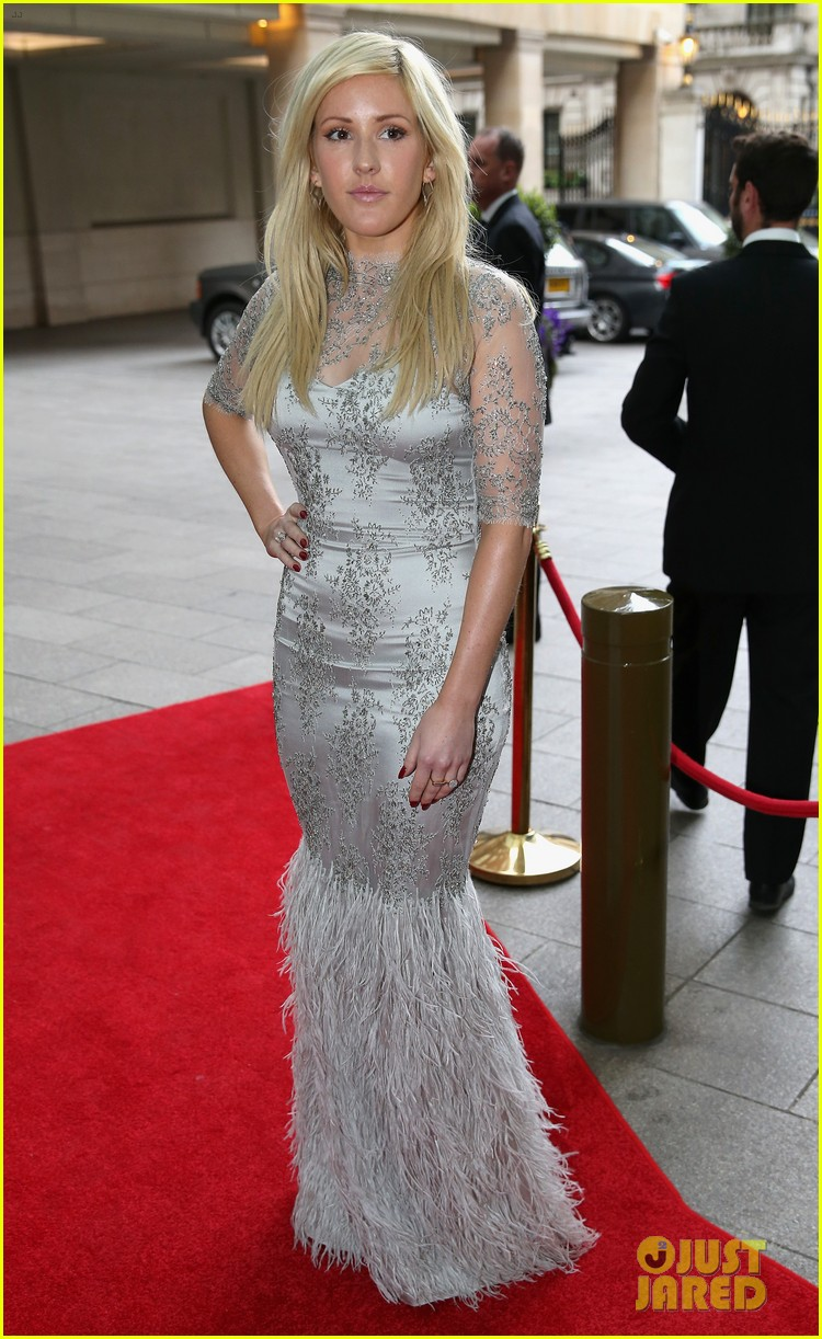 prince harry ellie goulding walking with the wounded gala 07