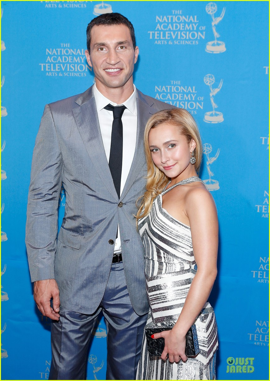 hayden panettiere wladimir klitschko sports emmy awards reception 02