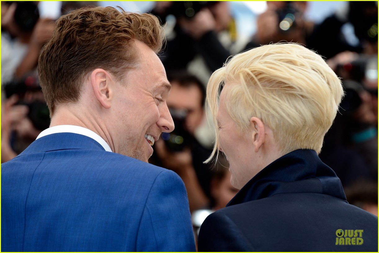tom hiddleston tilda swinton only lovers left alive cannes photo call 10
