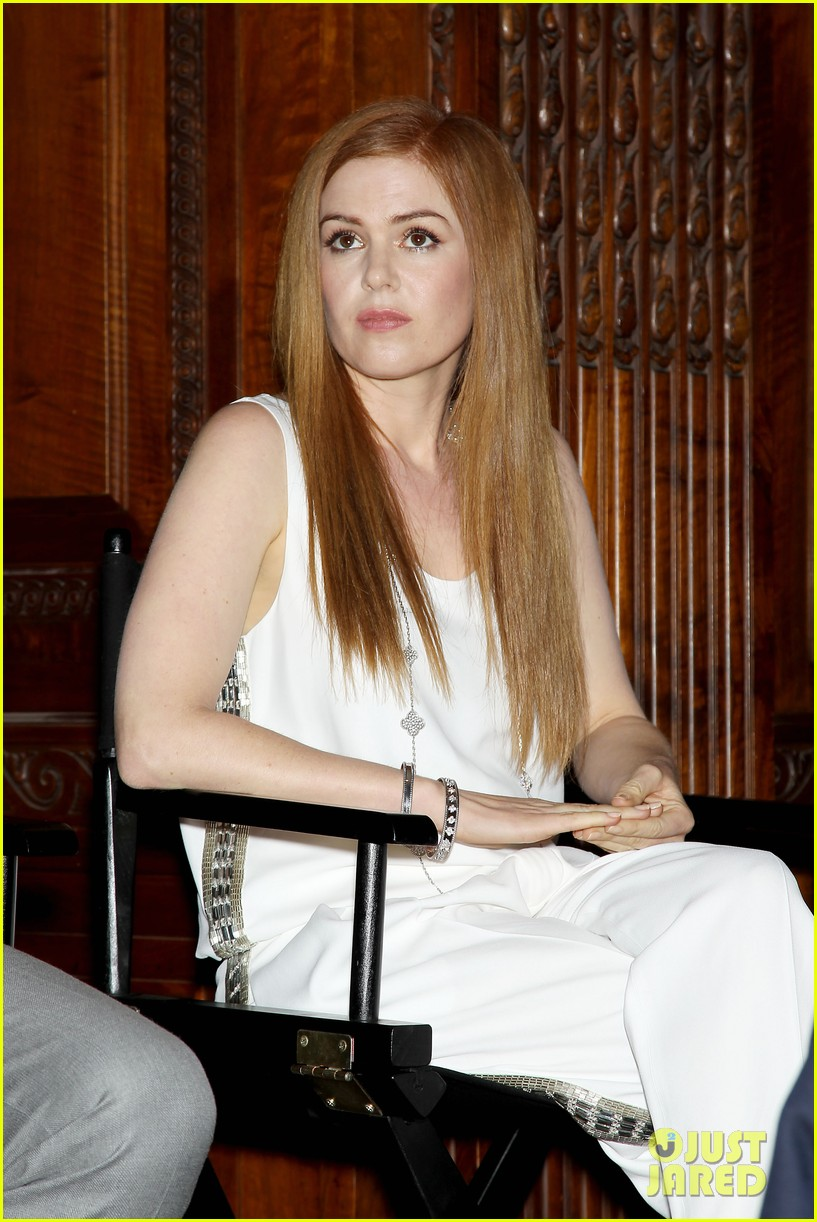 isla fisher carey mulligan great gatsby luncheon 28