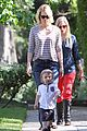 january jones xander walks in front of mommy 13