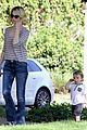 january jones xander walks in front of mommy 19