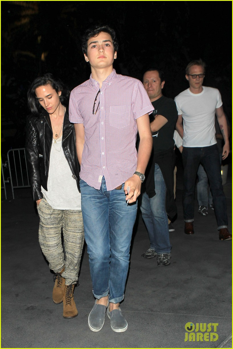 jennifer connelly paul bettany rolling stones concert with the kids 042864056