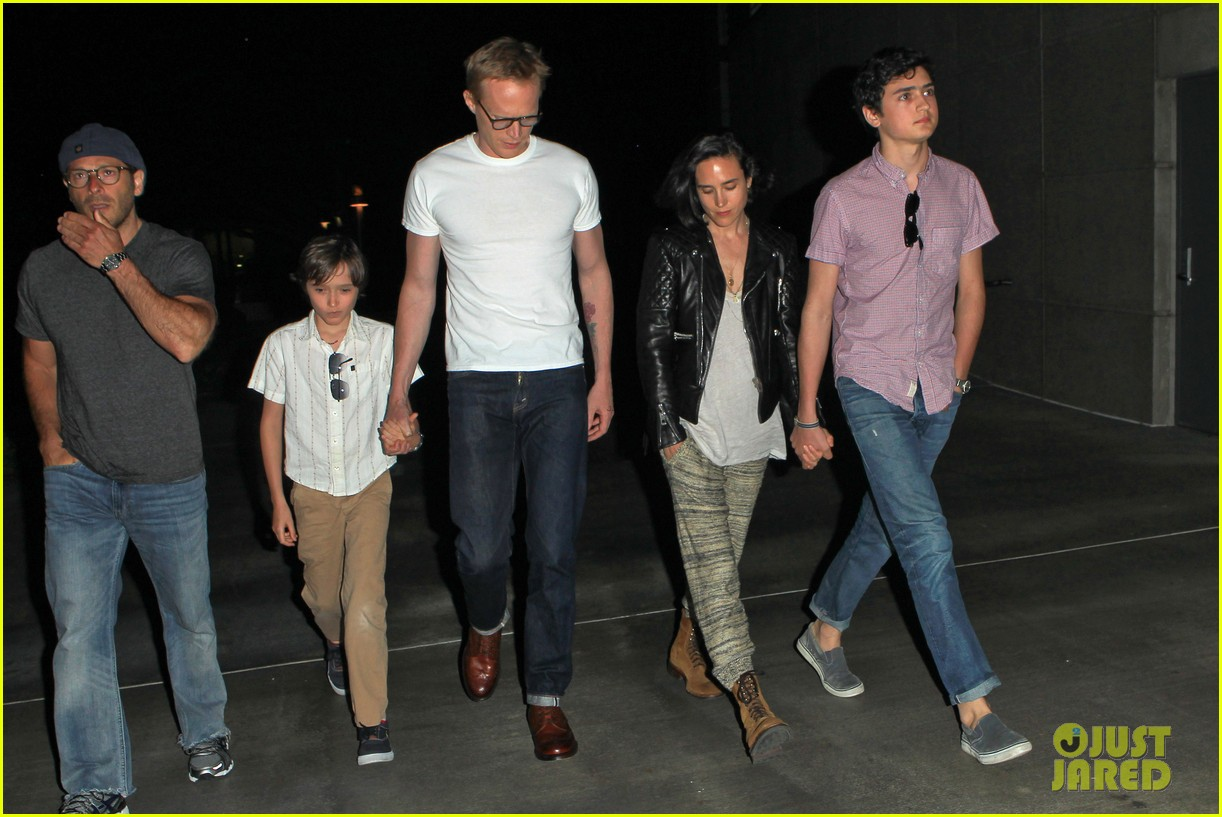 jennifer connelly paul bettany rolling stones concert with the kids 14