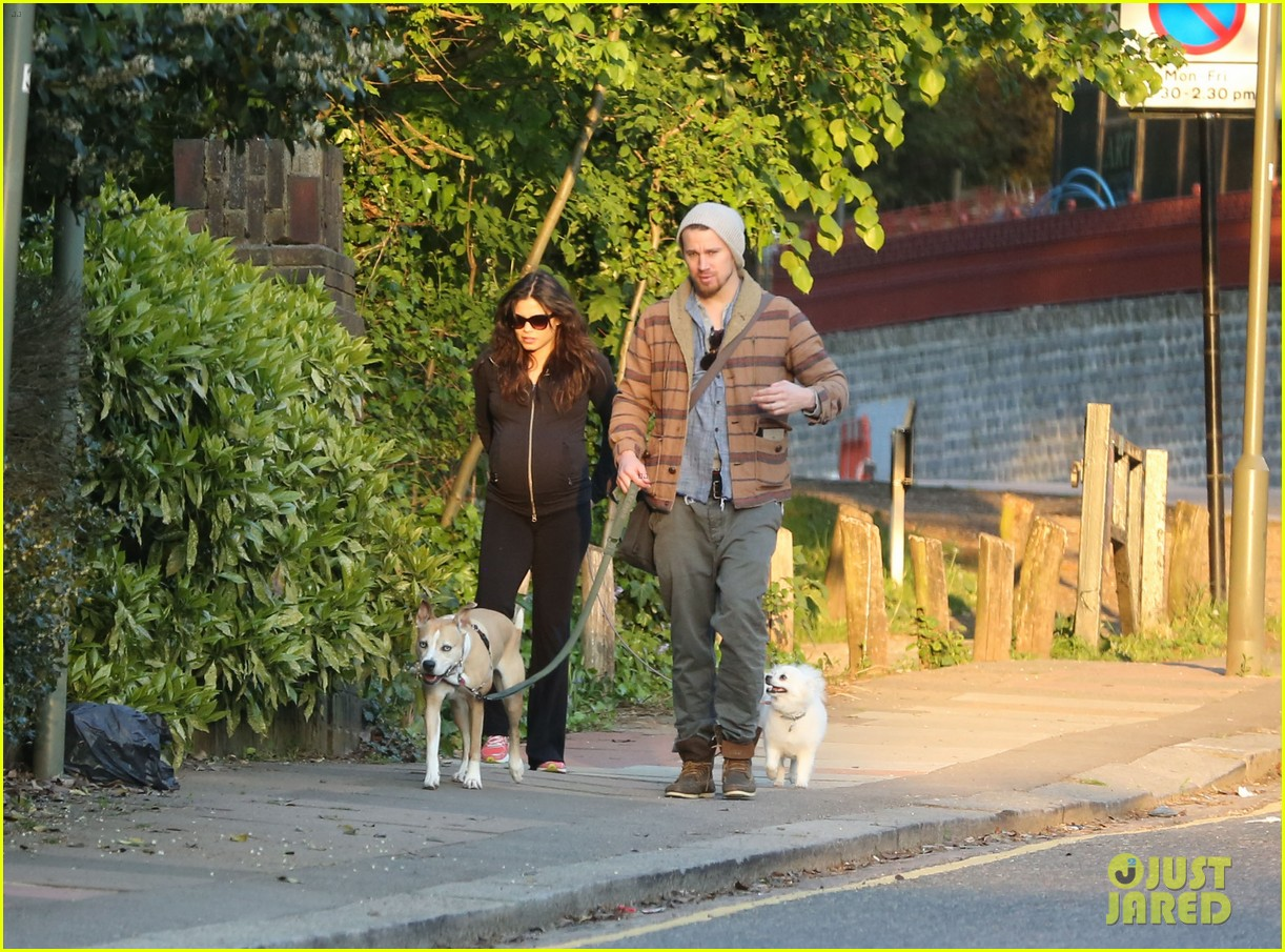 channing tatum jenna dewan take a dog walk following vet visit 06