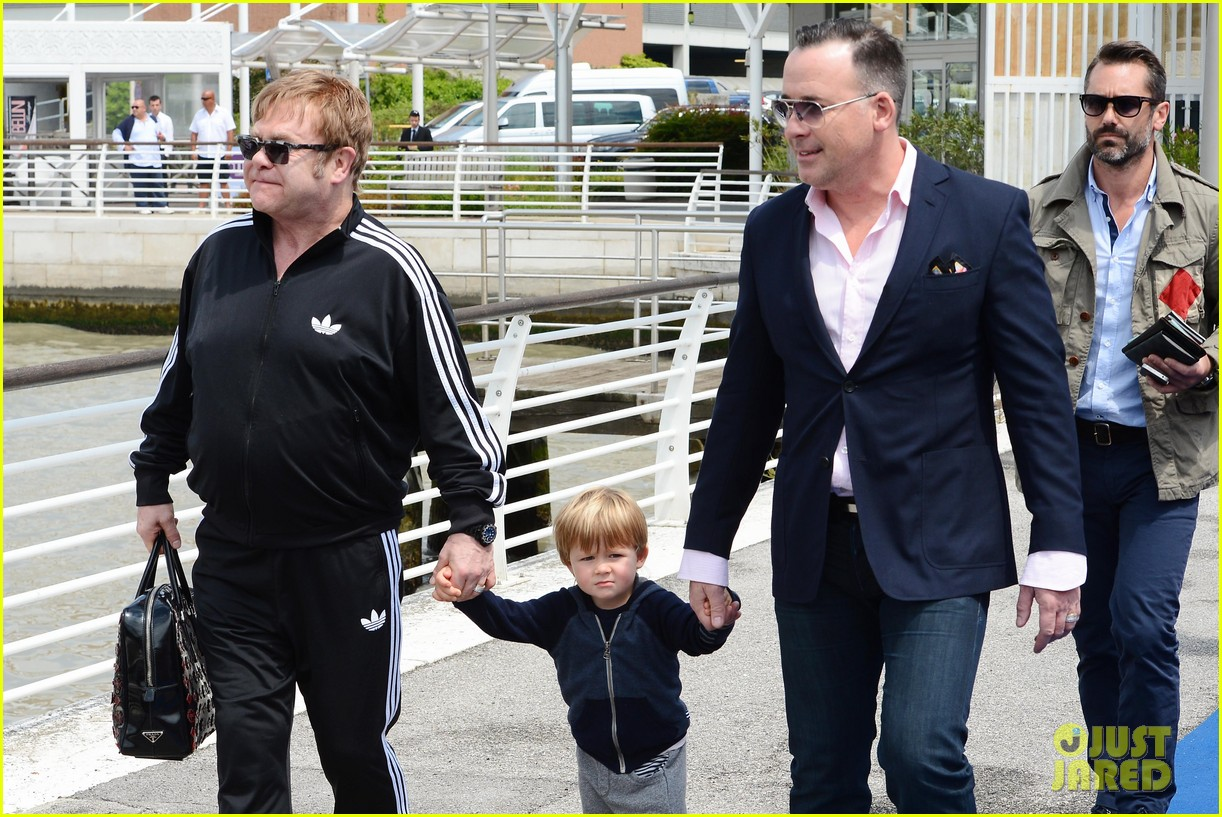 elton john david furniss family trip with zachary elijah 202879981