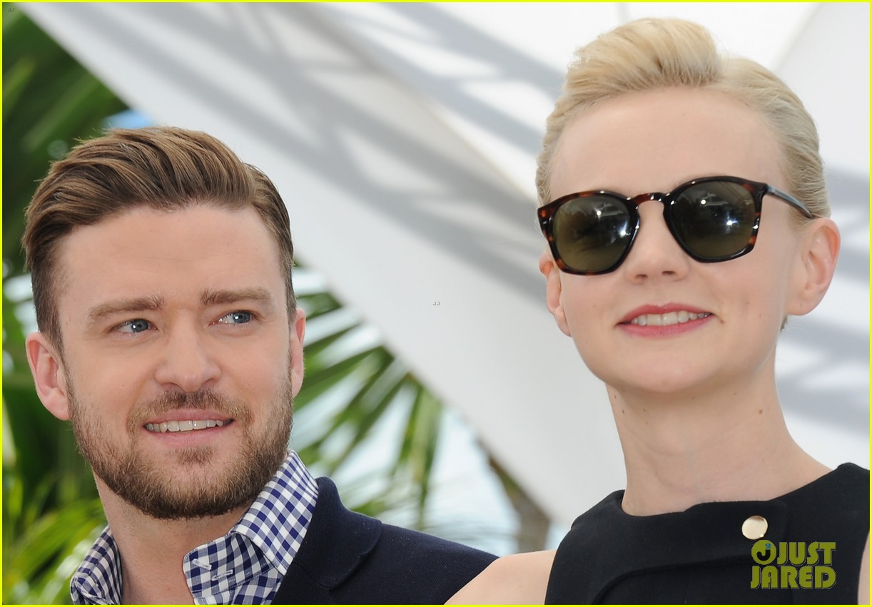 justin timberlake carey mulligan inside llewyn davis cannes photo call 082873376