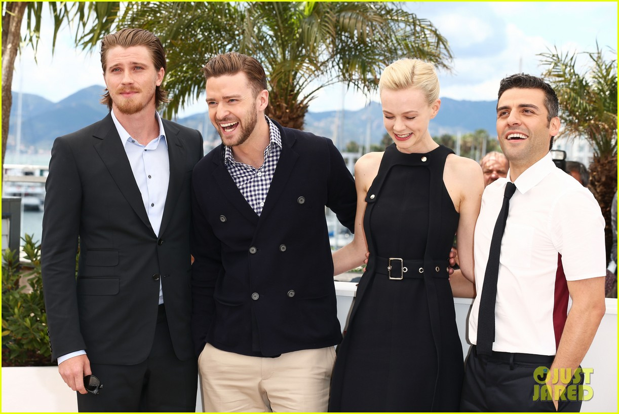 justin timberlake carey mulligan inside llewyn davis cannes photo call 192873387