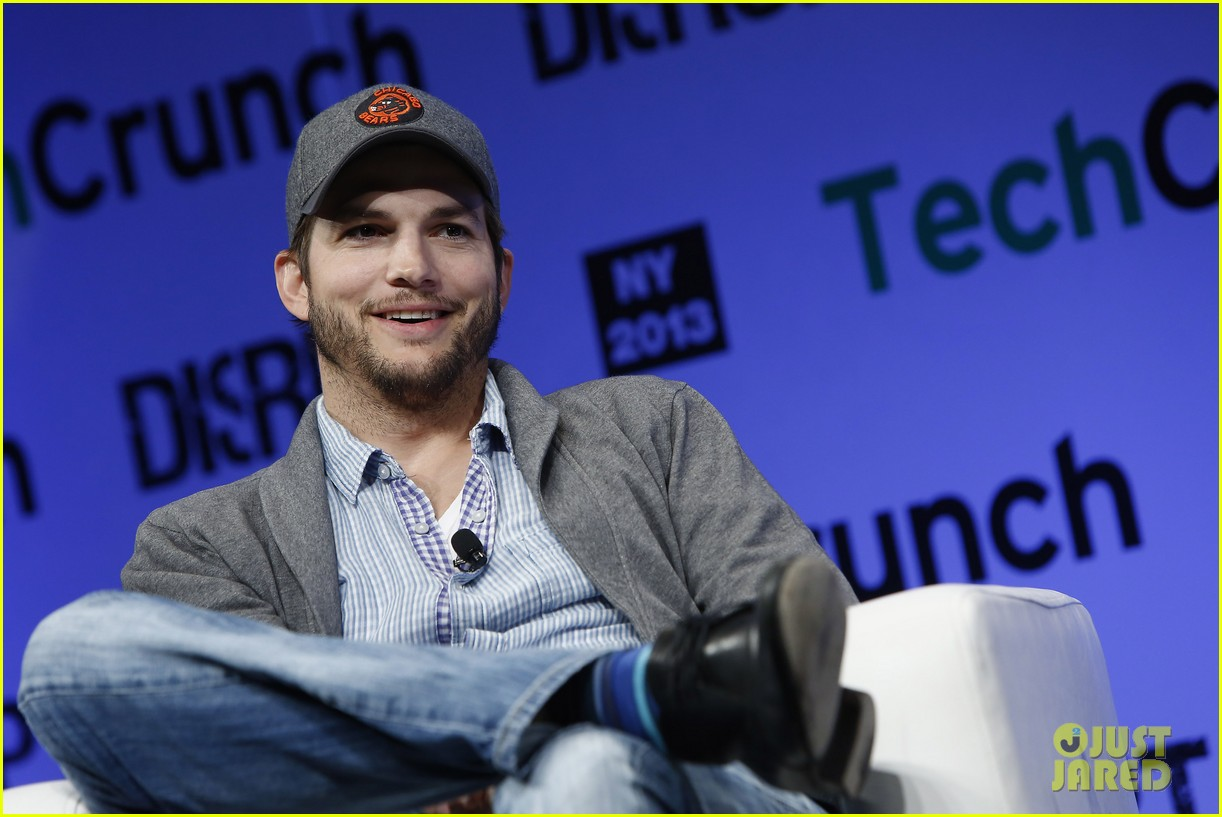 ashton kutcher techcrunch disrupt ny 092861906