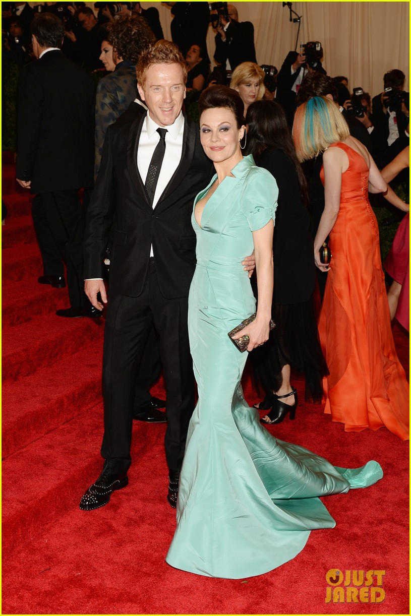 damian lewis morgan saylor met ball 2013 red carpet 10