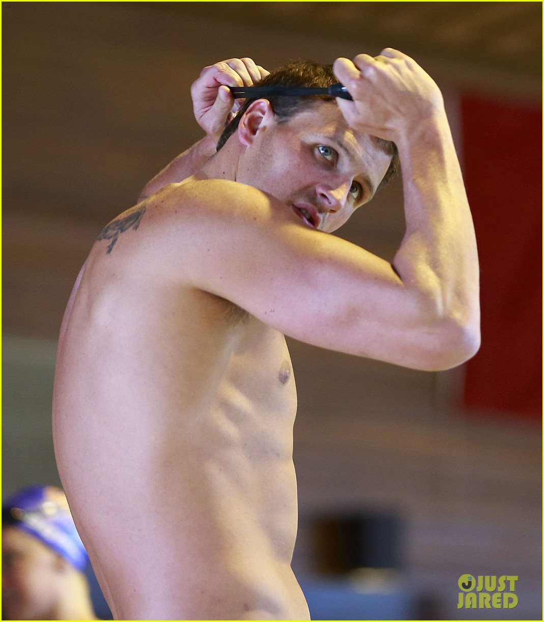 ryan lochte shirtless speedo workout in vancouver 042877729