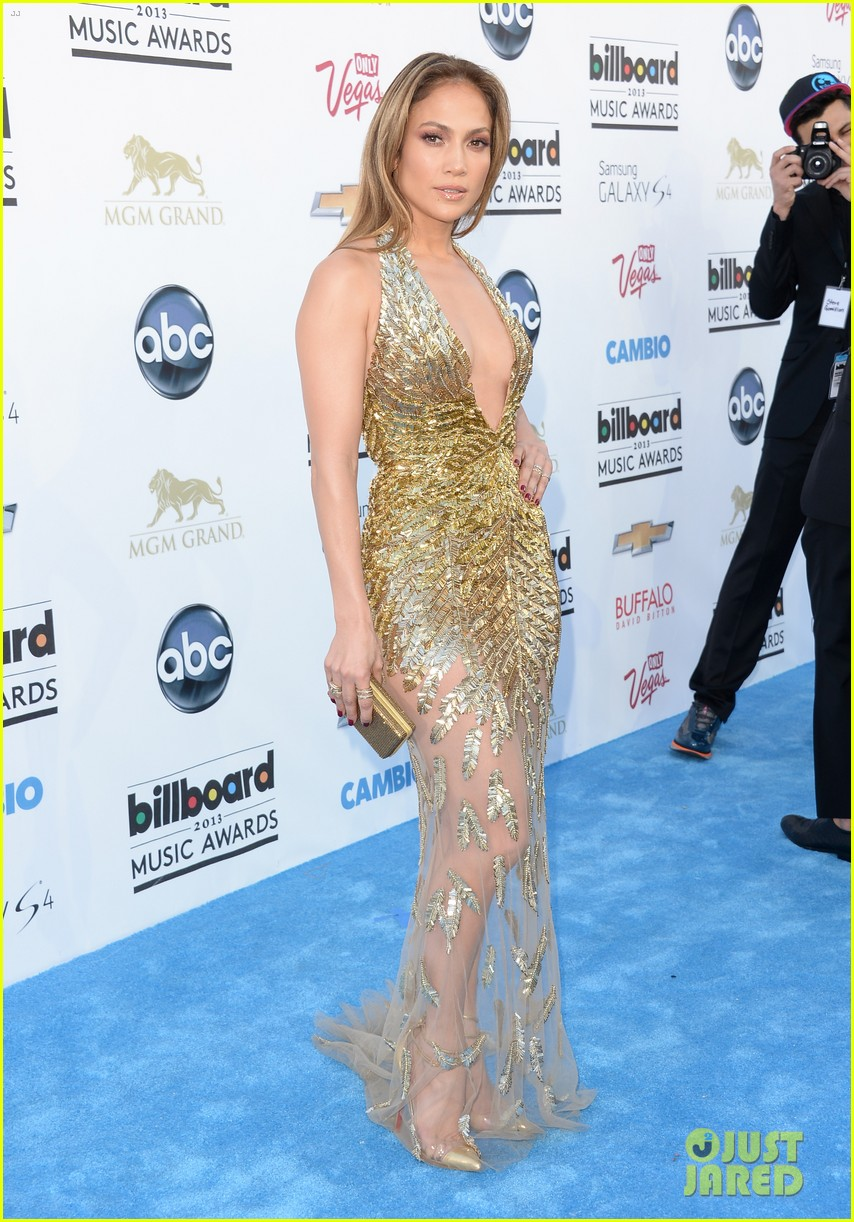 jennifer lopez billboard music awards 2013 with casper smart 062874002