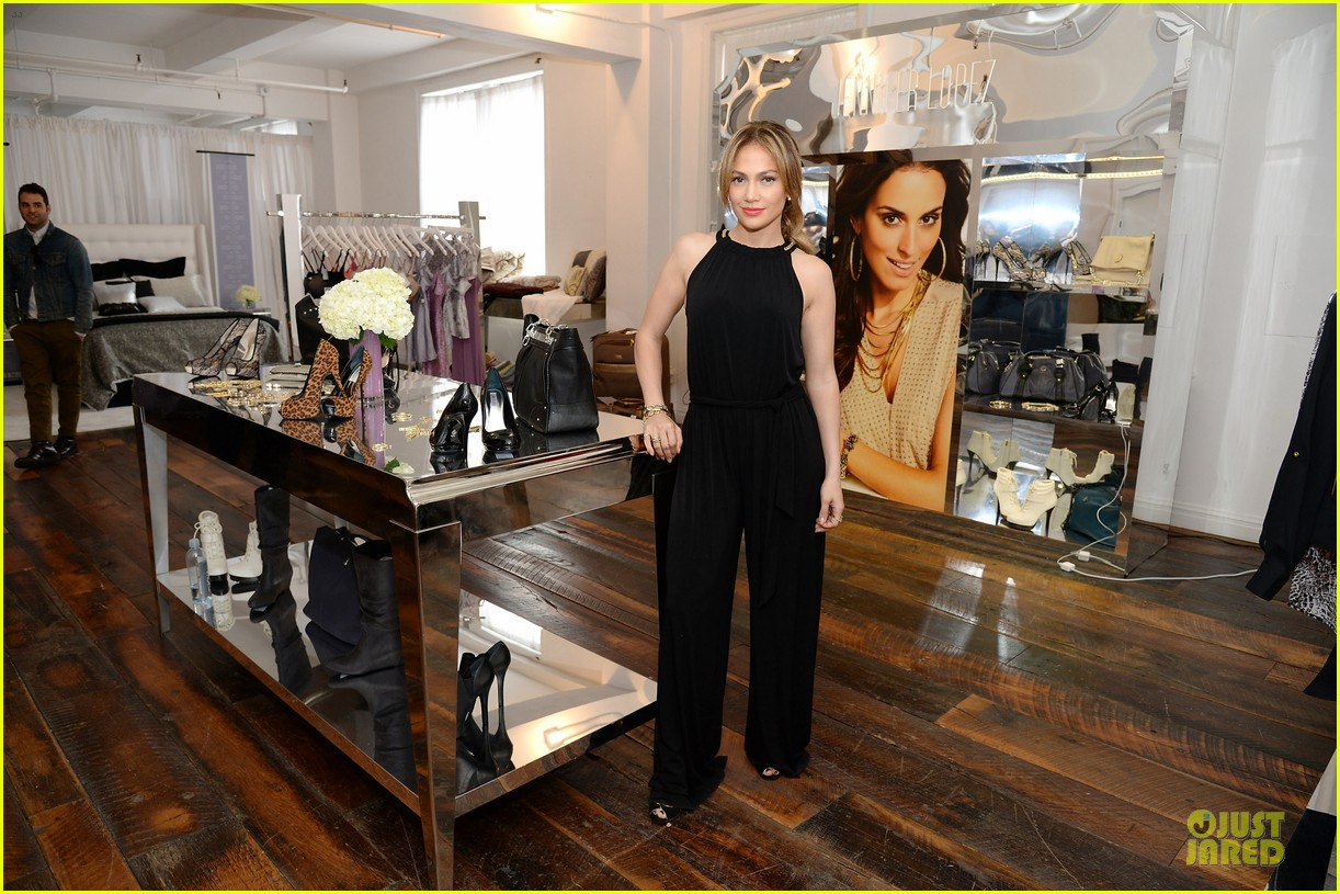 jennifer lopez for kohl fall 2013 collection launch 05