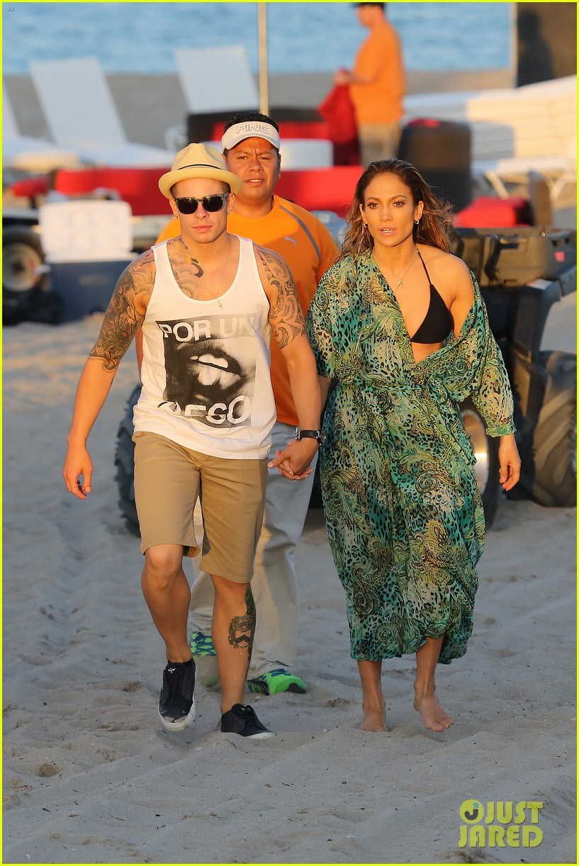 jennifer lopez music video set with shirtless casper smart 152864714