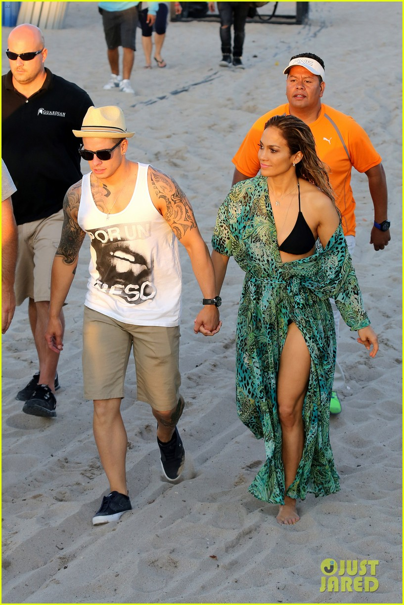 jennifer lopez music video set with shirtless casper smart 192864718