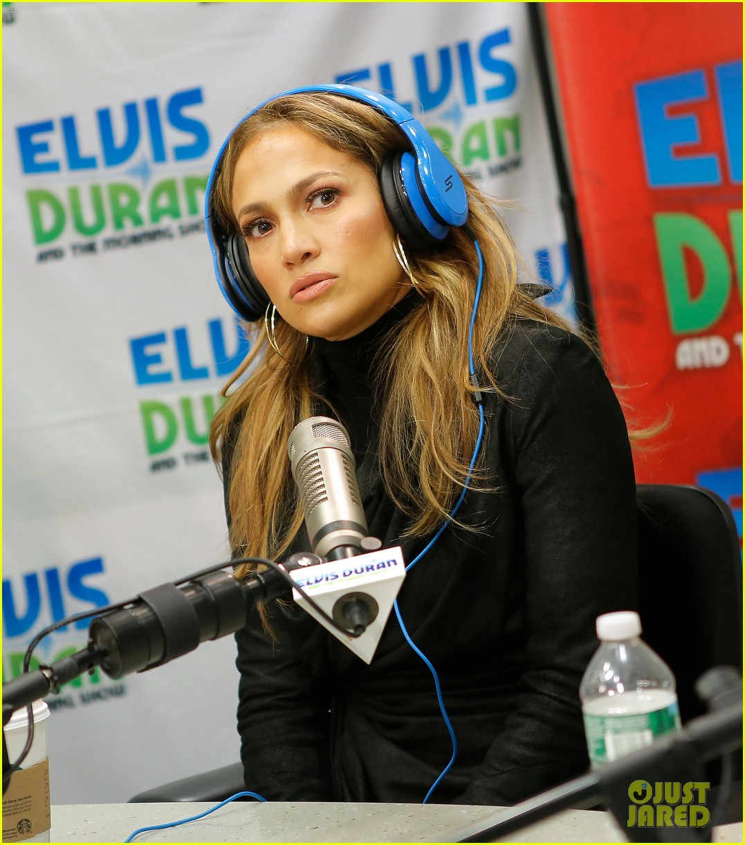 jennifer lopez visits z100 studios after releasing new song 082866846