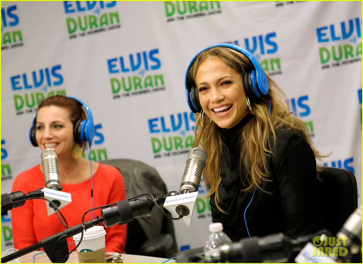 jennifer lopez visits z100 studios after releasing new song 11