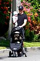 james marsden walks with son william luca 06