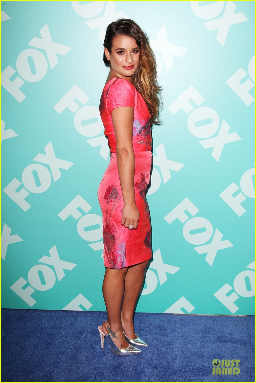 lea michele fox upfront presentation 05