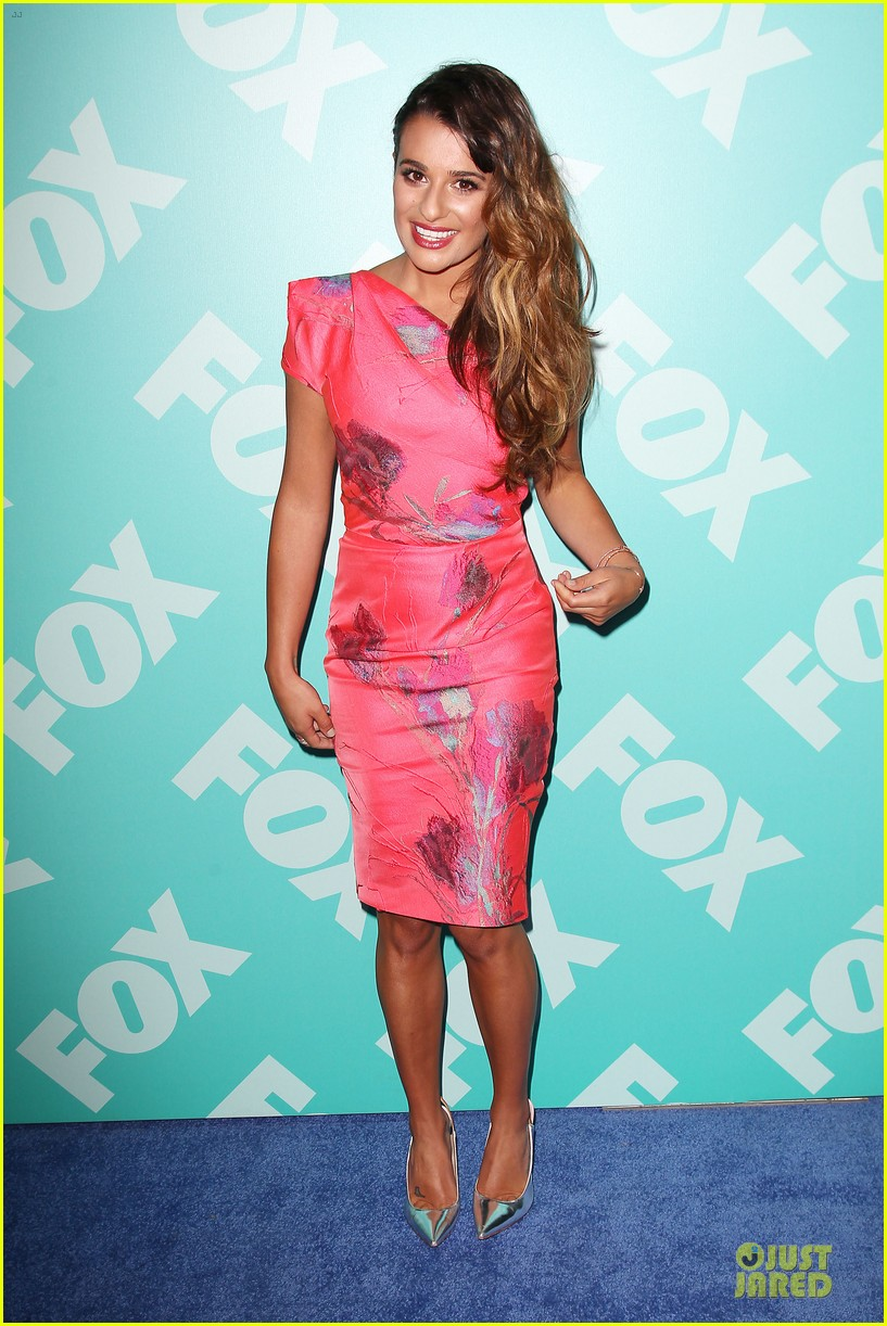 lea michele fox upfront presentation 06