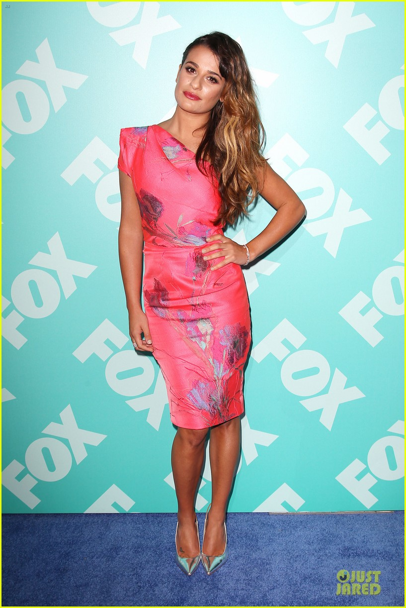 lea michele fox upfront presentation 082869861