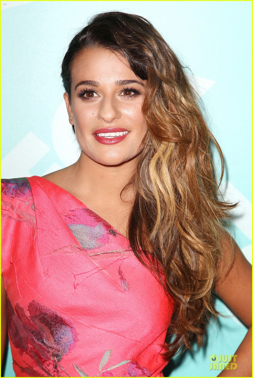 lea michele fox upfront presentation 09