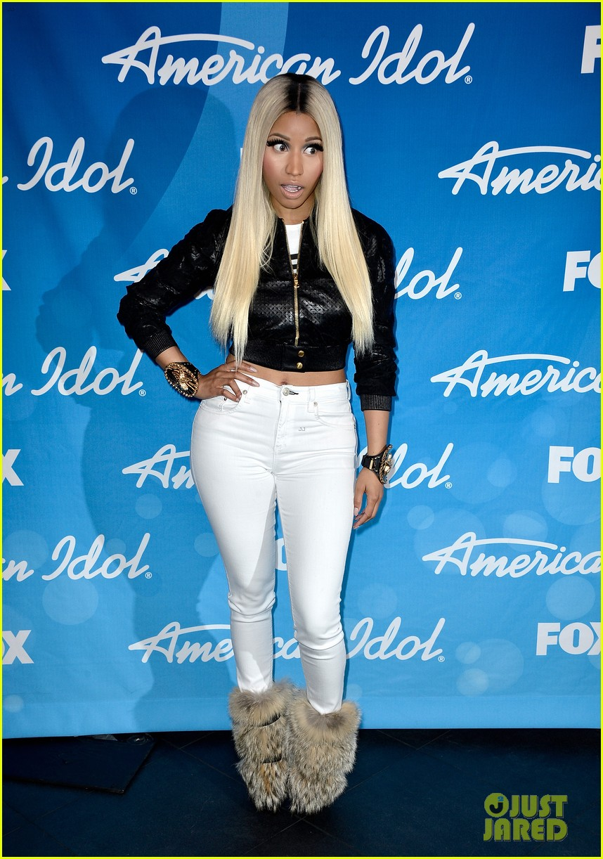 nicki minaj american idol finale press room photos 012872080