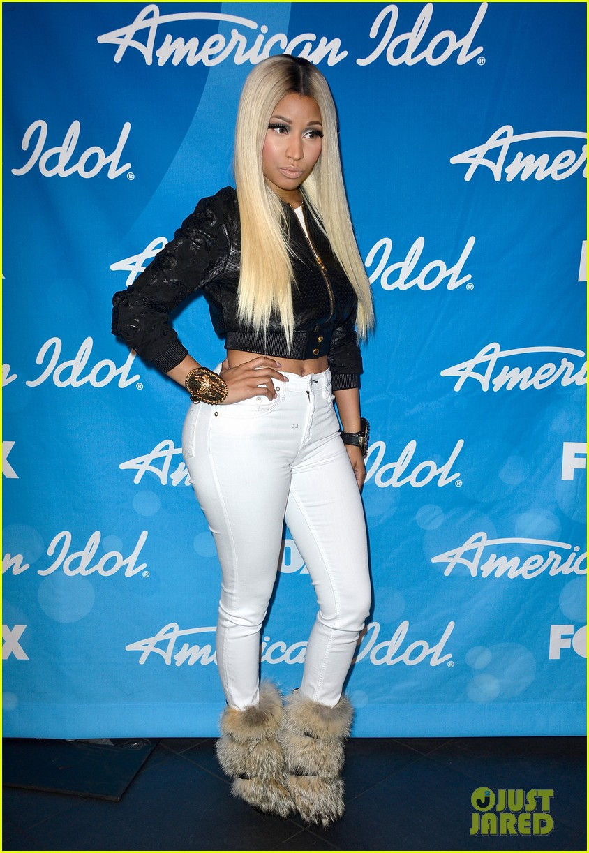 nicki minaj american idol finale press room photos 05