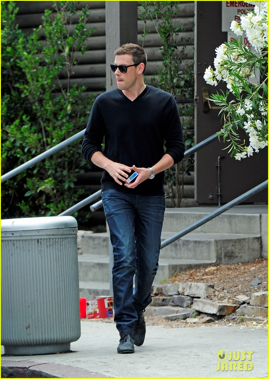 cory monteith steps out after glee creative twist revealed 03