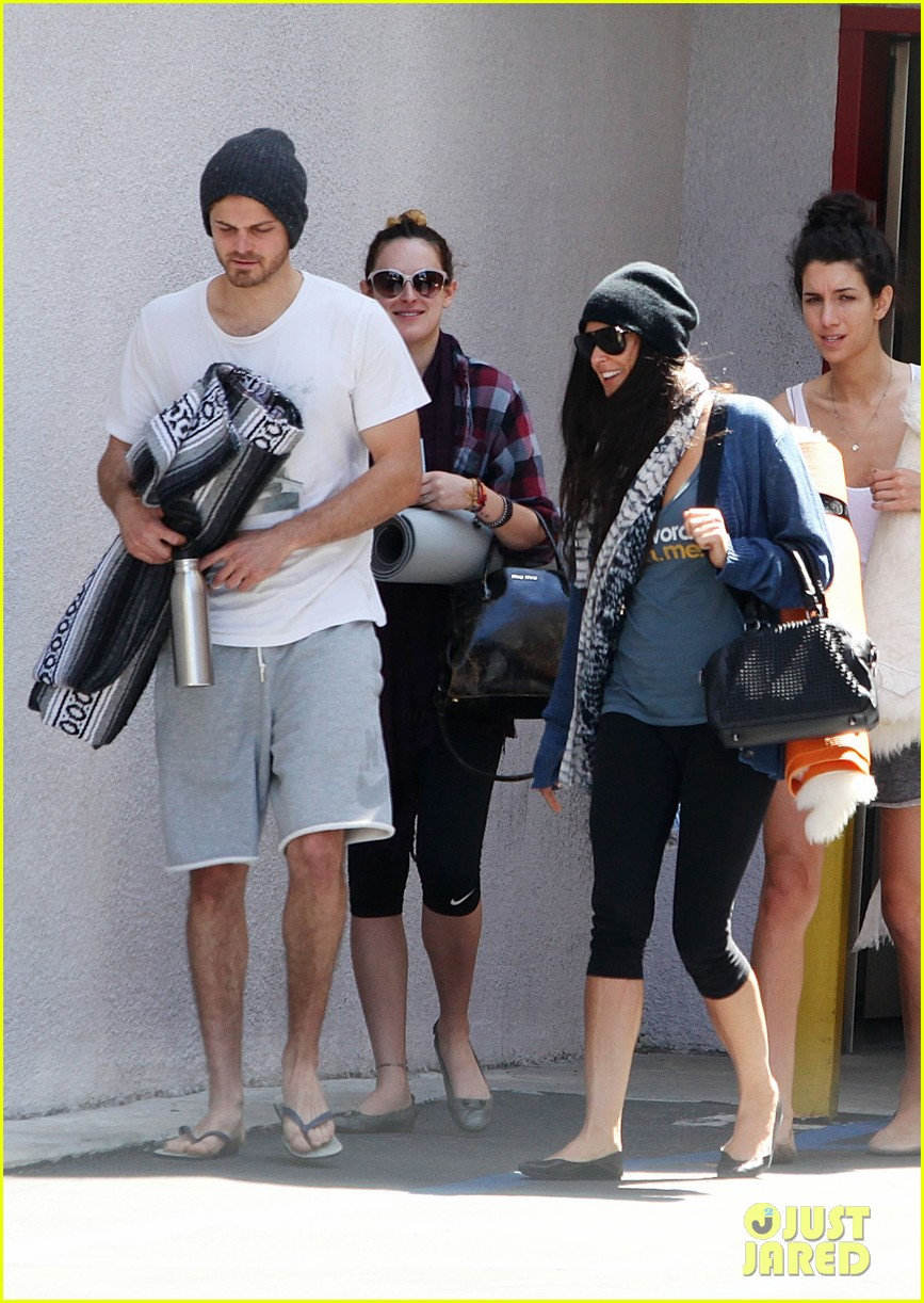demi moore rumer willis leave yoga class together 212871023
