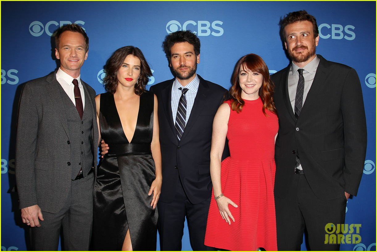 how i met your mother big bang theory casts cbs upfront 2013 03