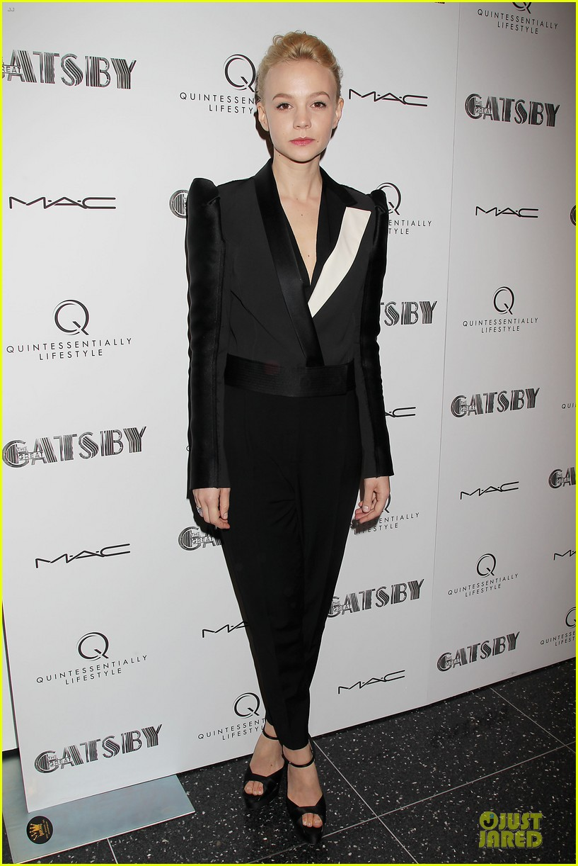 carey mulligan pre met ball great gatsby screening 09