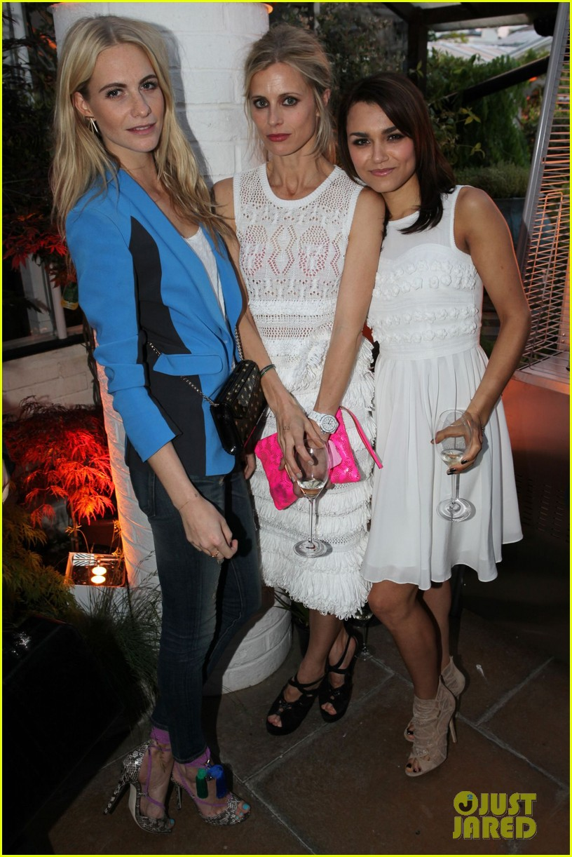 thandie newton samantha barks jimmy choo dinner 08