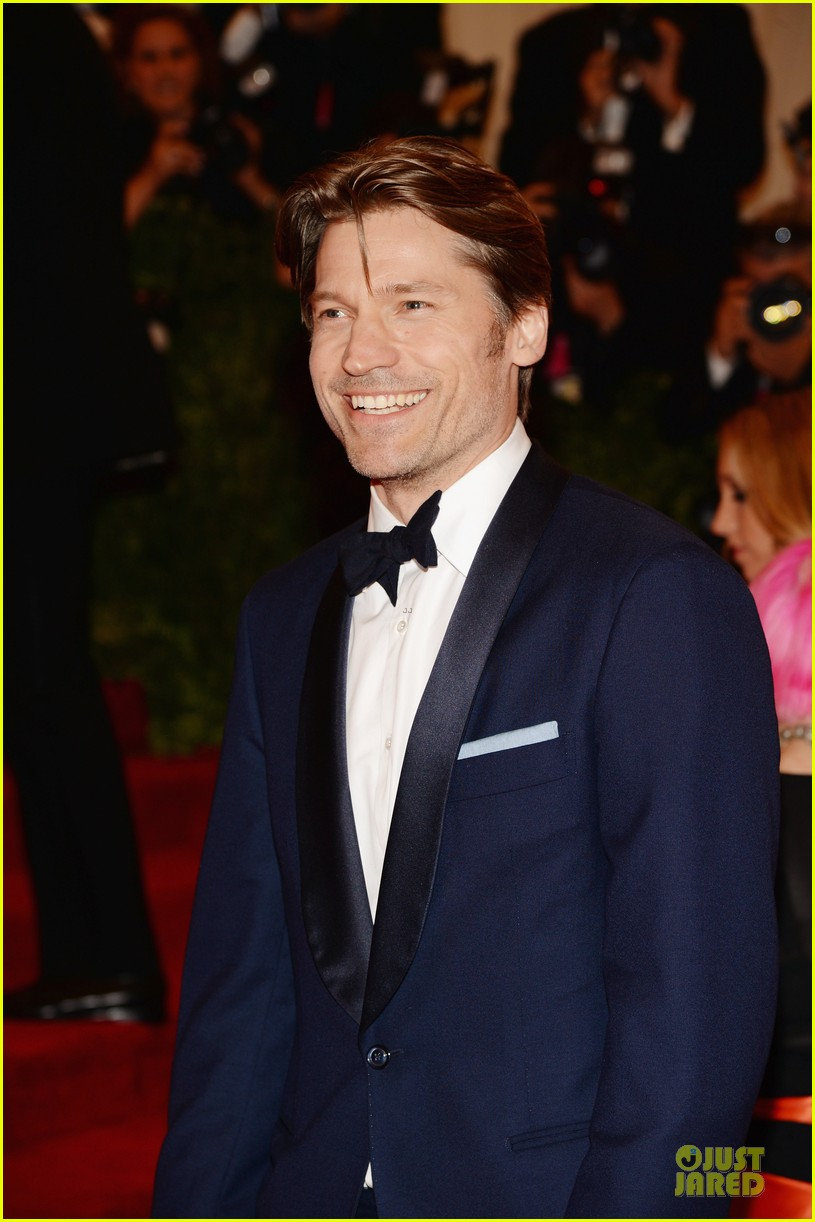 nikolaj coster waldau met ball 2013 red carpet 022865081