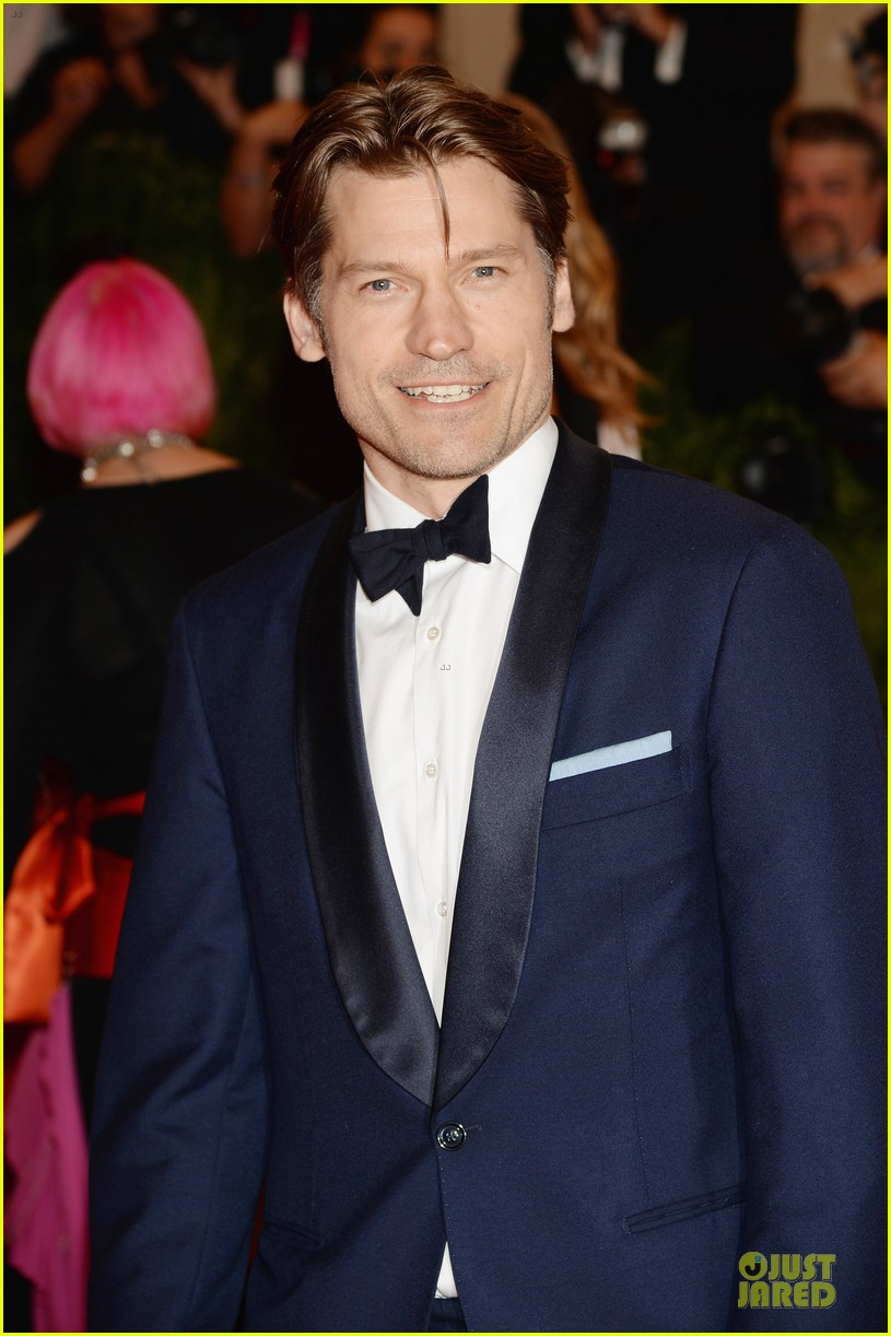 nikolaj coster waldau met ball 2013 red carpet 032865082