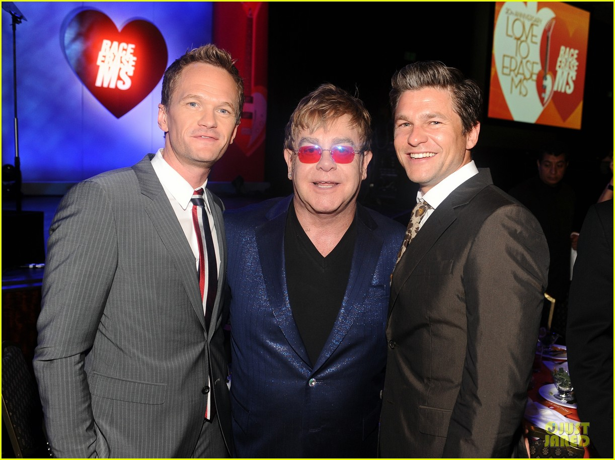neil patrick harris david burtka race to erase ms gala 04