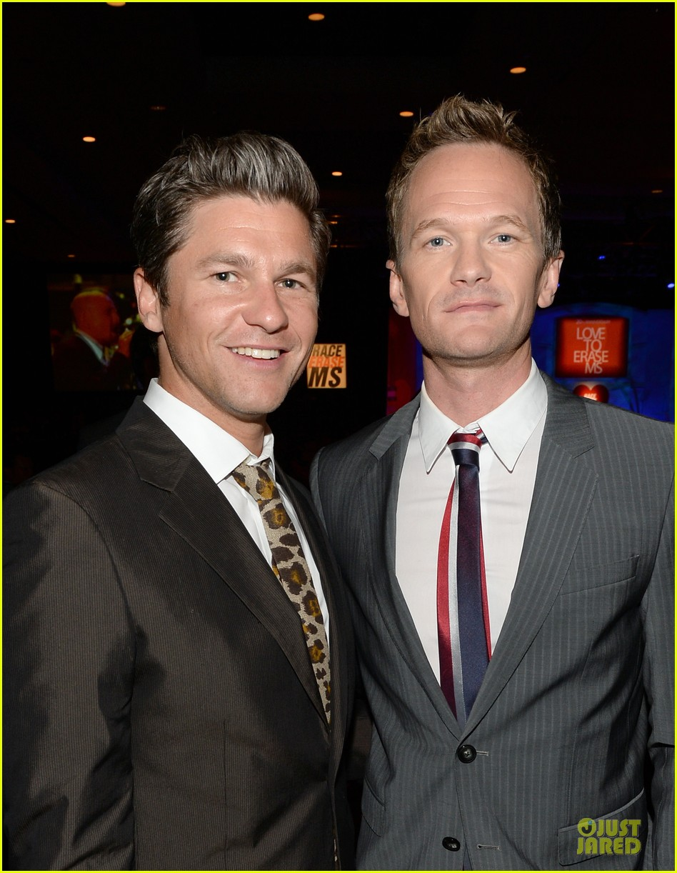 neil patrick harris david burtka race to erase ms gala 062863303