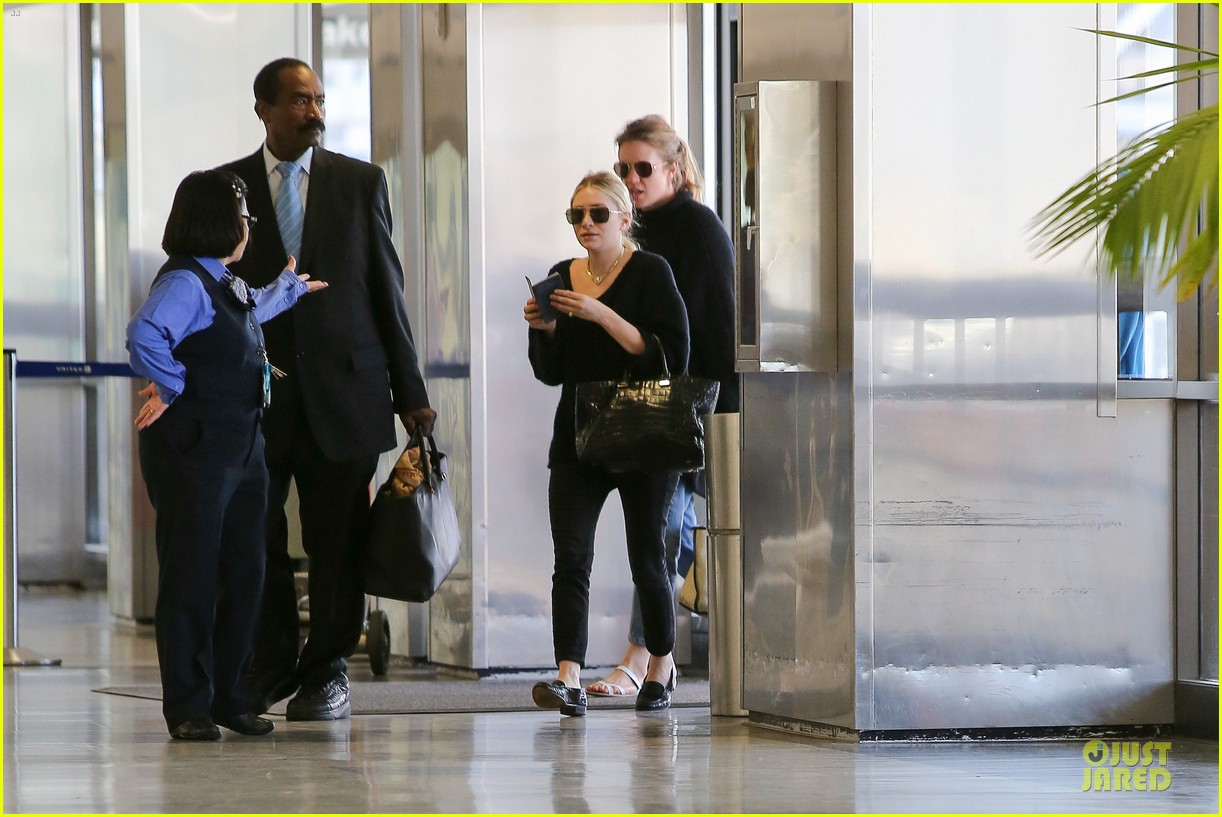 ashley olsen memorial day lax departure 12