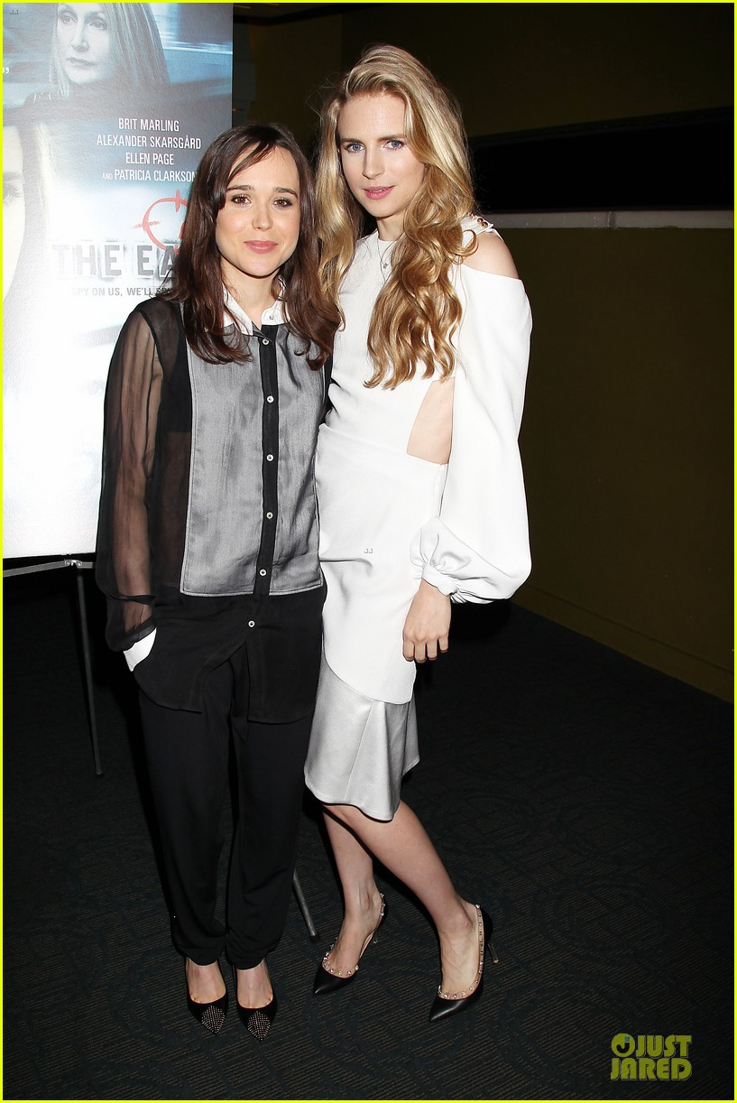 ellen page brit marling the east new york premiere 012875160