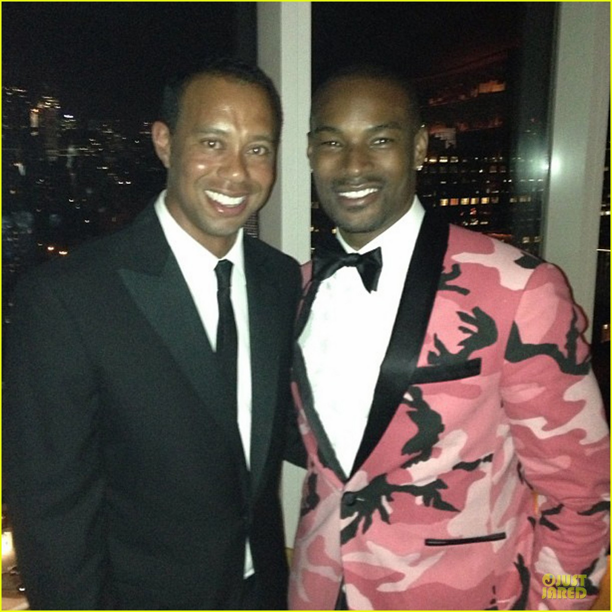 pharrell tyson beckford met ball 2013 red carpet 092865689