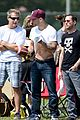 ryan phillippe abs flashing at deacon football game 03
