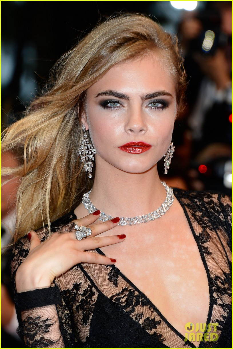 Cara Delevigne Cannes, cara delevigne chopard, cara delevigne great gatsby