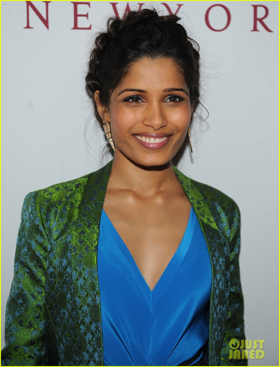 freida pinto maiyet varanasi silk capsule collection dinner 132867691