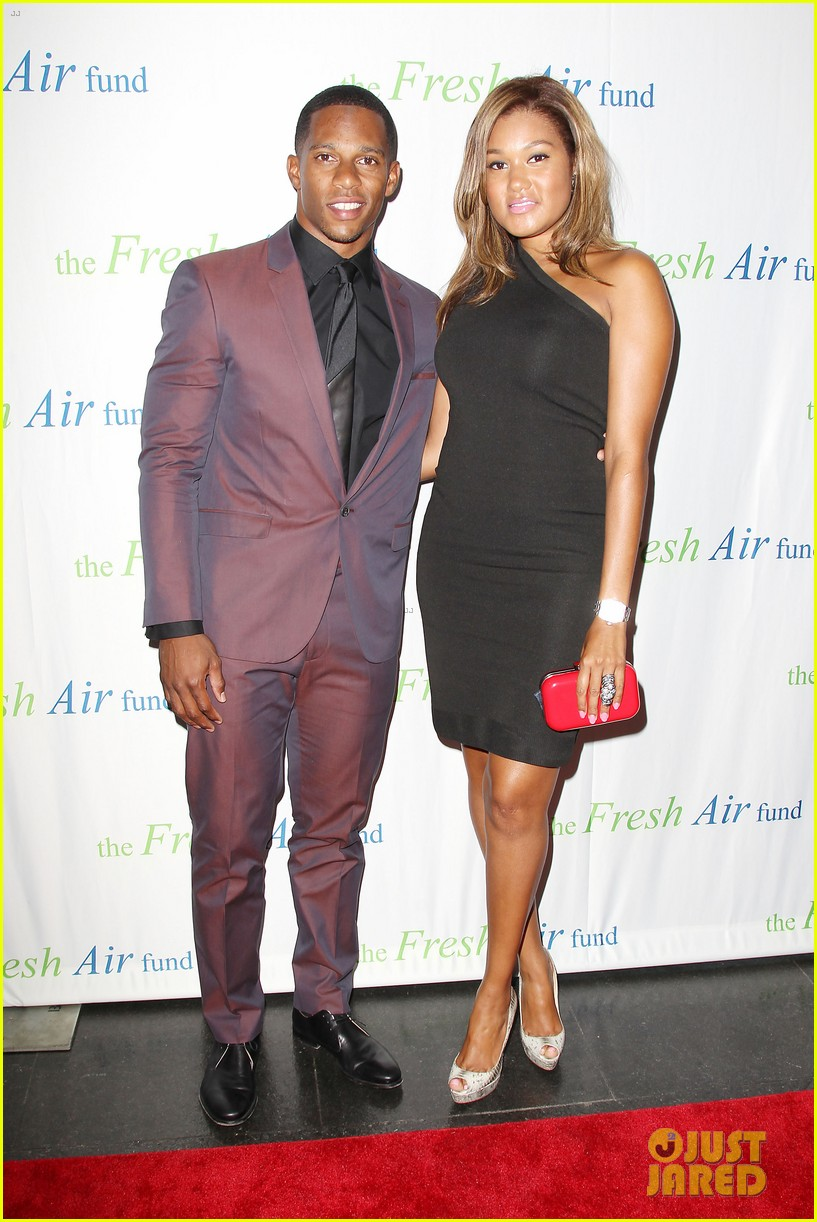 christina ricci fresh air fund event with victor cruz 052881073