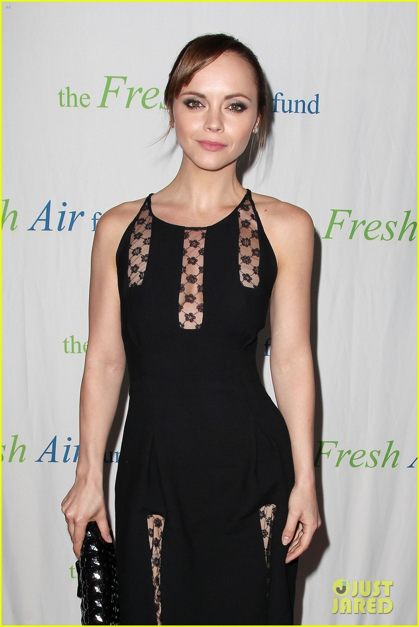 christina ricci fresh air fund event with victor cruz 08