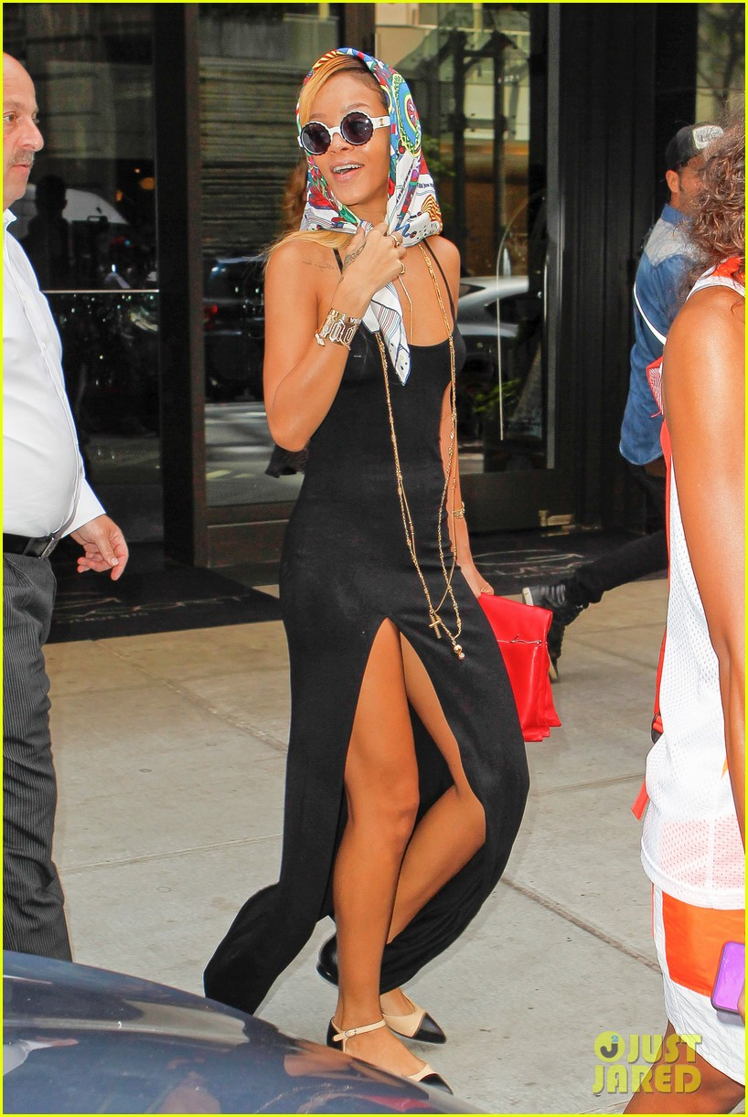 rihanna summer in de air in new york city 09