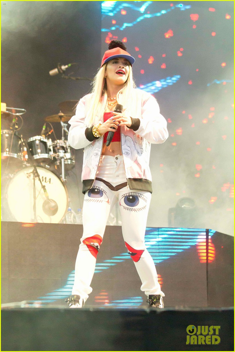 rita ora performs at as one in the park music festival 282878989